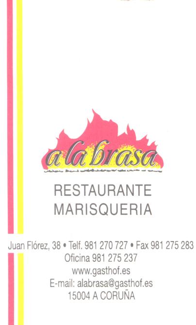 Restaurante A la Brasa en La Coruña