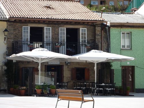 Fachada del restaurante Ricon del Abuelo en Sada La Coruña