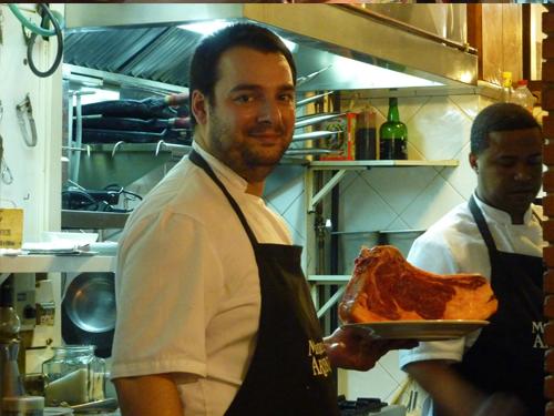 José y Fran disponén siempre del mejor producto en la cocina
