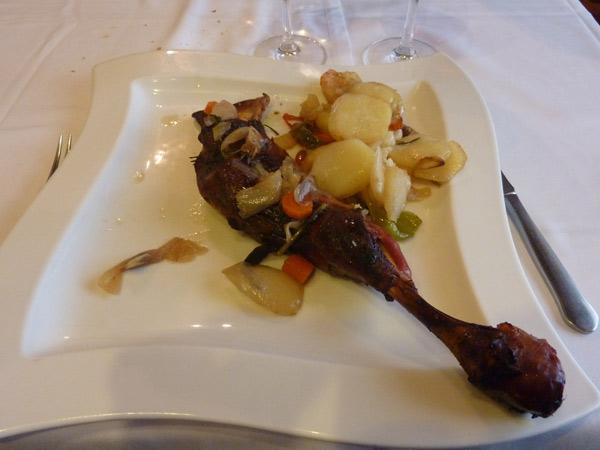 Paleta asada de cordero castellano lechal