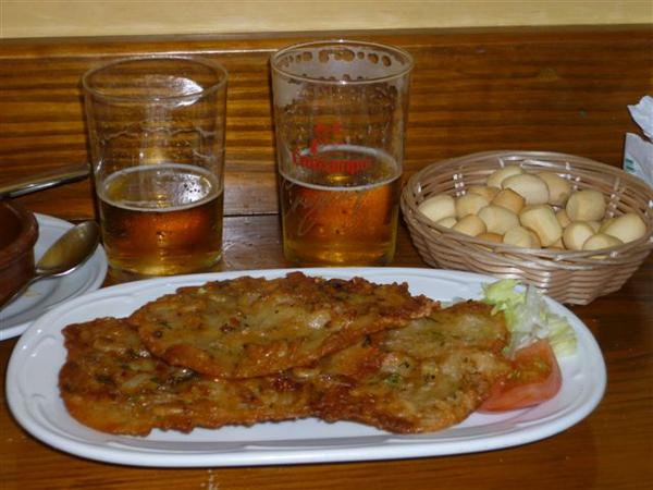 "Tortillitas de camarones del Bar ""Er Beti"""