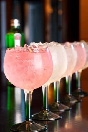 Tanqueray nº Ten nos presenta una nueva e innovadora propuesta para disfrutar de un Gin Tonic de cinco maneras diferentes.