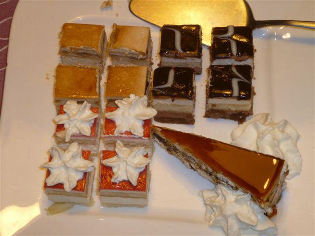 Surtido de tartas casera