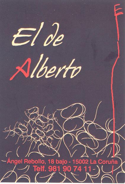 Tarjeta El de Alberto