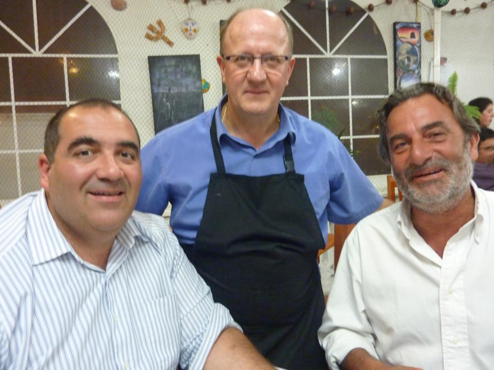 Fede, Manolo y Santi
