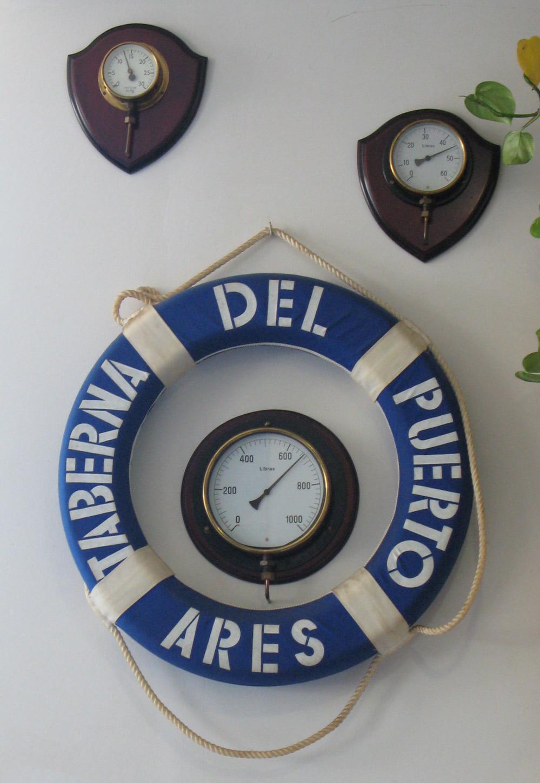 La Taberna del Puerto del Bitákora esta decorada con motivos náuticos