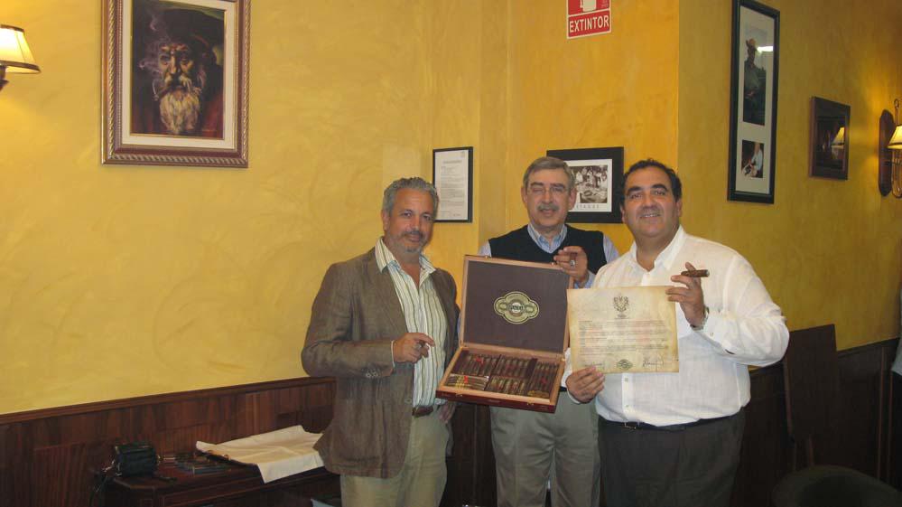 Pablo García-Ramos, Manuel Quesada y Fede-G Poncet