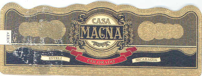 Vitola del cigarro Casa Magna Churchill Colorado
