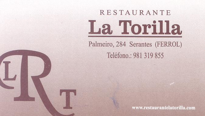 Restaurante La Torilla en Serantes Ferrol