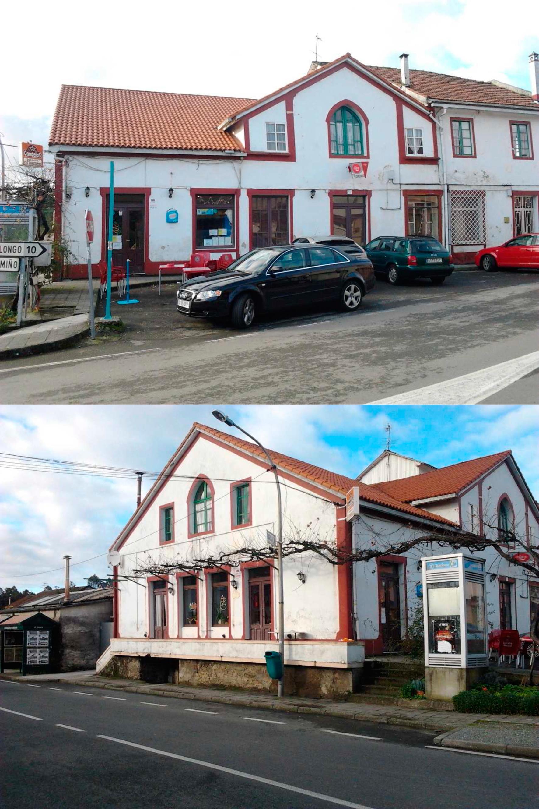 Mesón O Comercio en Vilarmaior en la provincia de La Coruña