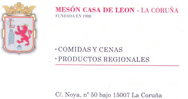 La Casa de León en la ciudad coruñesa