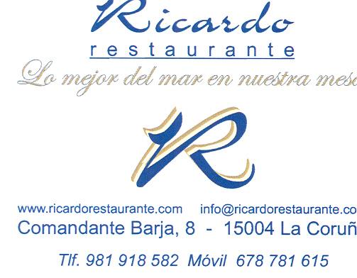 Restaurante Ricardo en la la playa de Riazor en La Coruña
