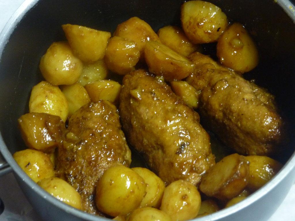 Amelyns cocina tradicional por encargo y para llevar en La Coruña. Rollitos de carne
