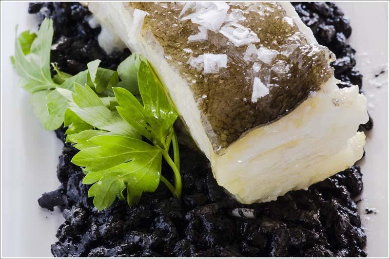 Bacalao asado con arroz negro meloso Comei Bebei - jornadas bacalao Alt-4