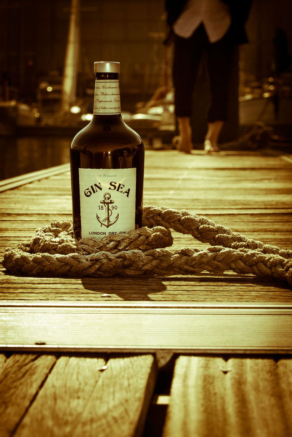 Gin Sea for un gin tonic gallego