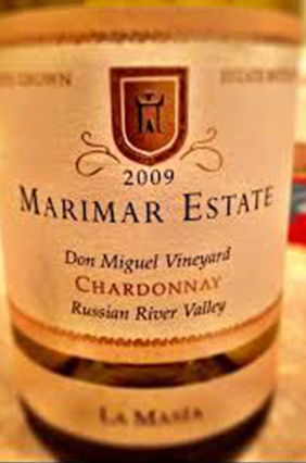 Marimar Estate Don Miguel Vineyard Chardonnay 2009 Russian River Valley, California