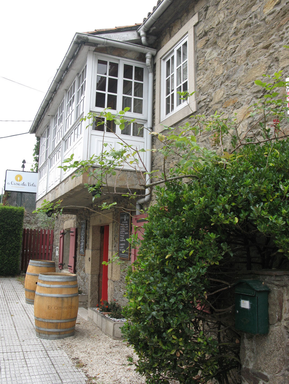 A Casa da Vela un nuevo restaurante en Anceis  - Exterior