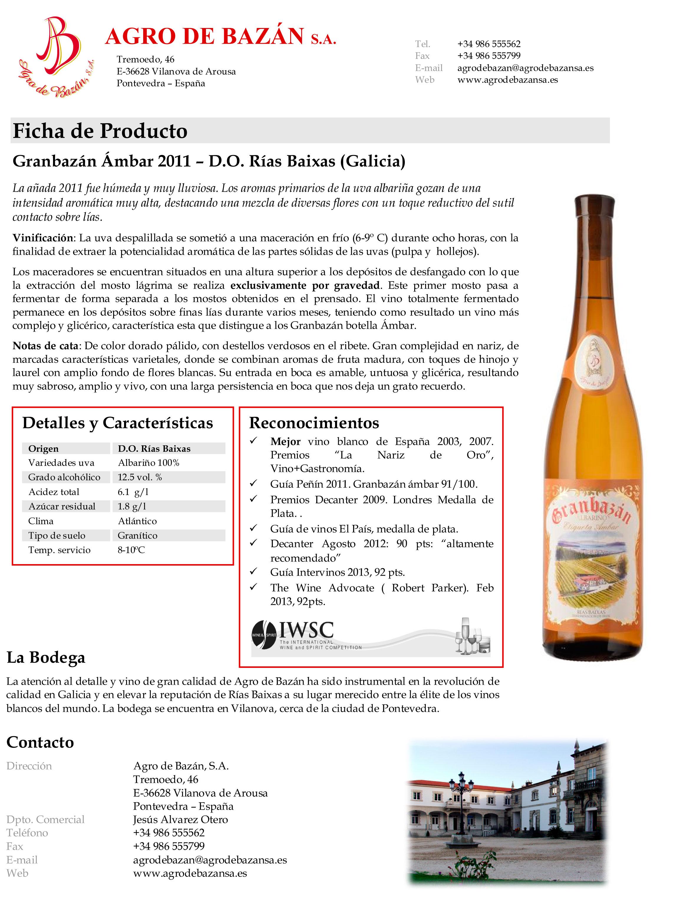 Ficha-Gran-bazán-Ámbar-2011