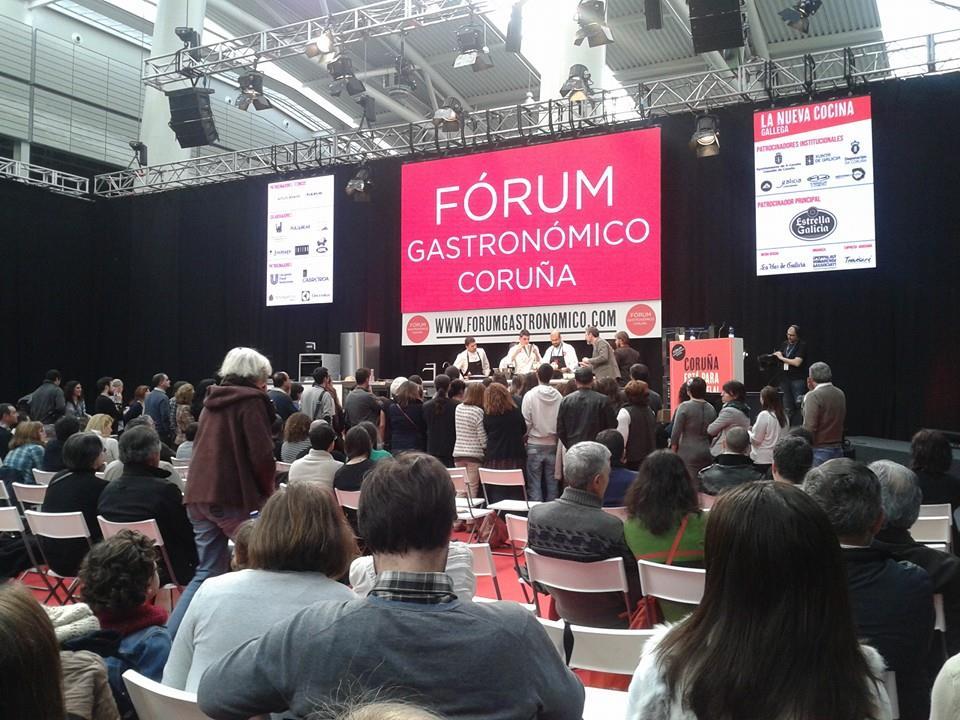 Éxito del Fórum Gastronómico 2014 en La Coruña