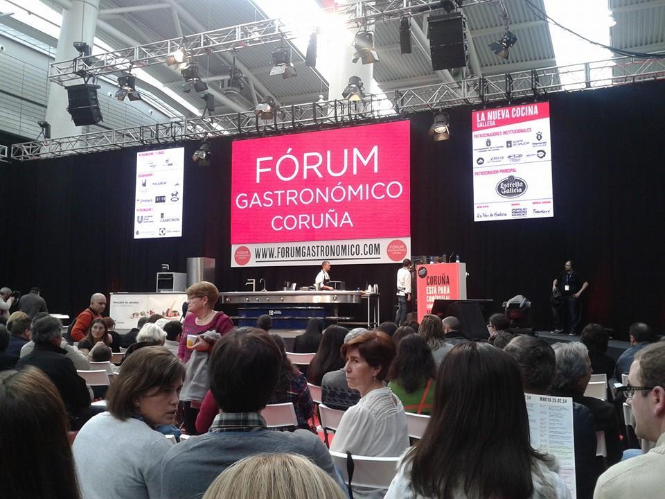 Éxito del Fórum Gastronómico 2014 en La Coruña2