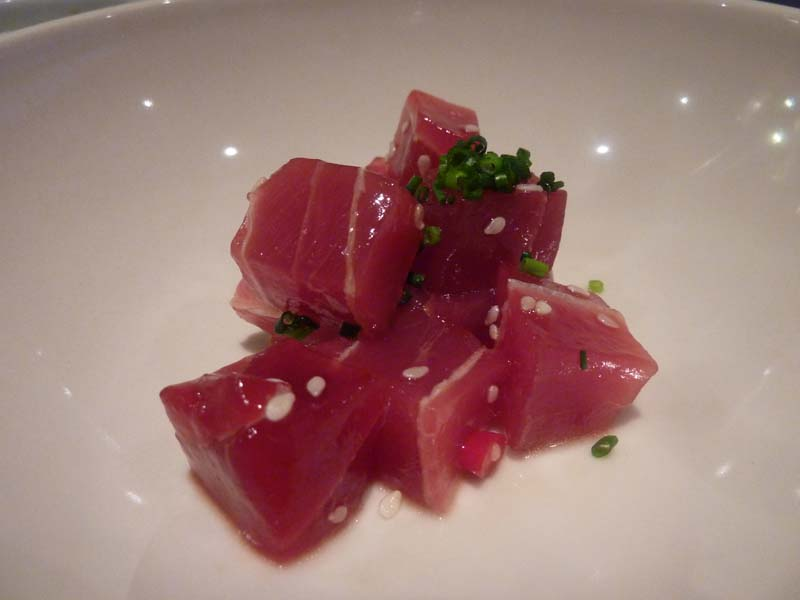 The Singular Meat & Japo del Hotel Finisterre
