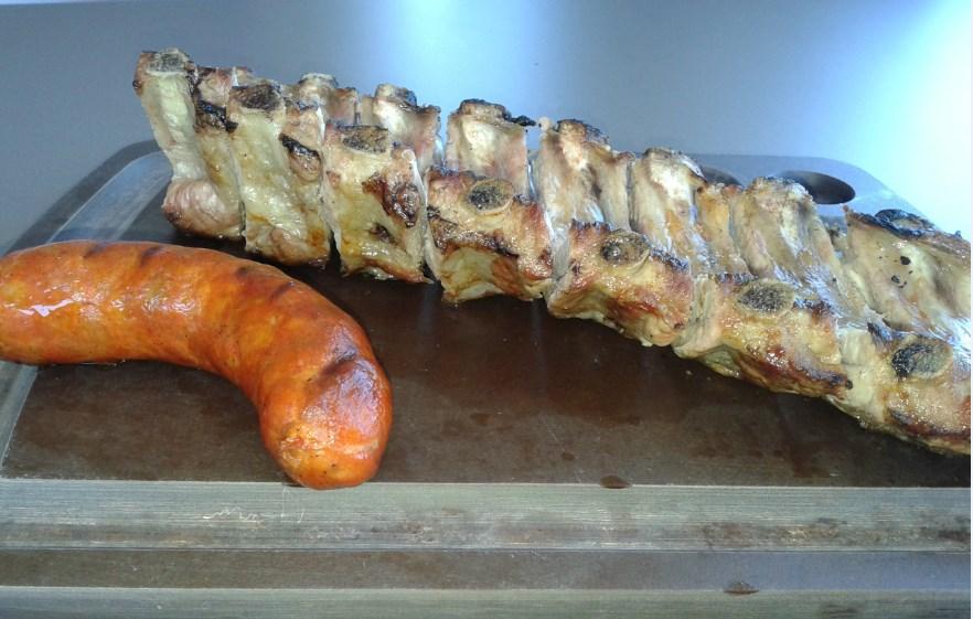 Alcorte Restaurante - Asador en Bastigueiro - Churrasco de cerdo