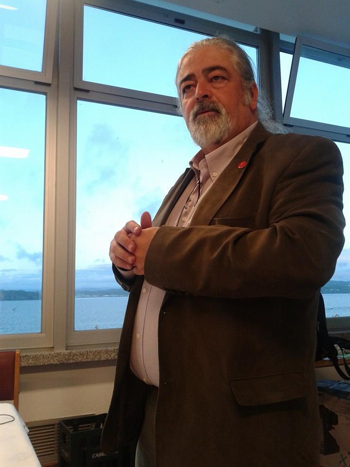 Luis Paadín defensor de los vinos gallegos