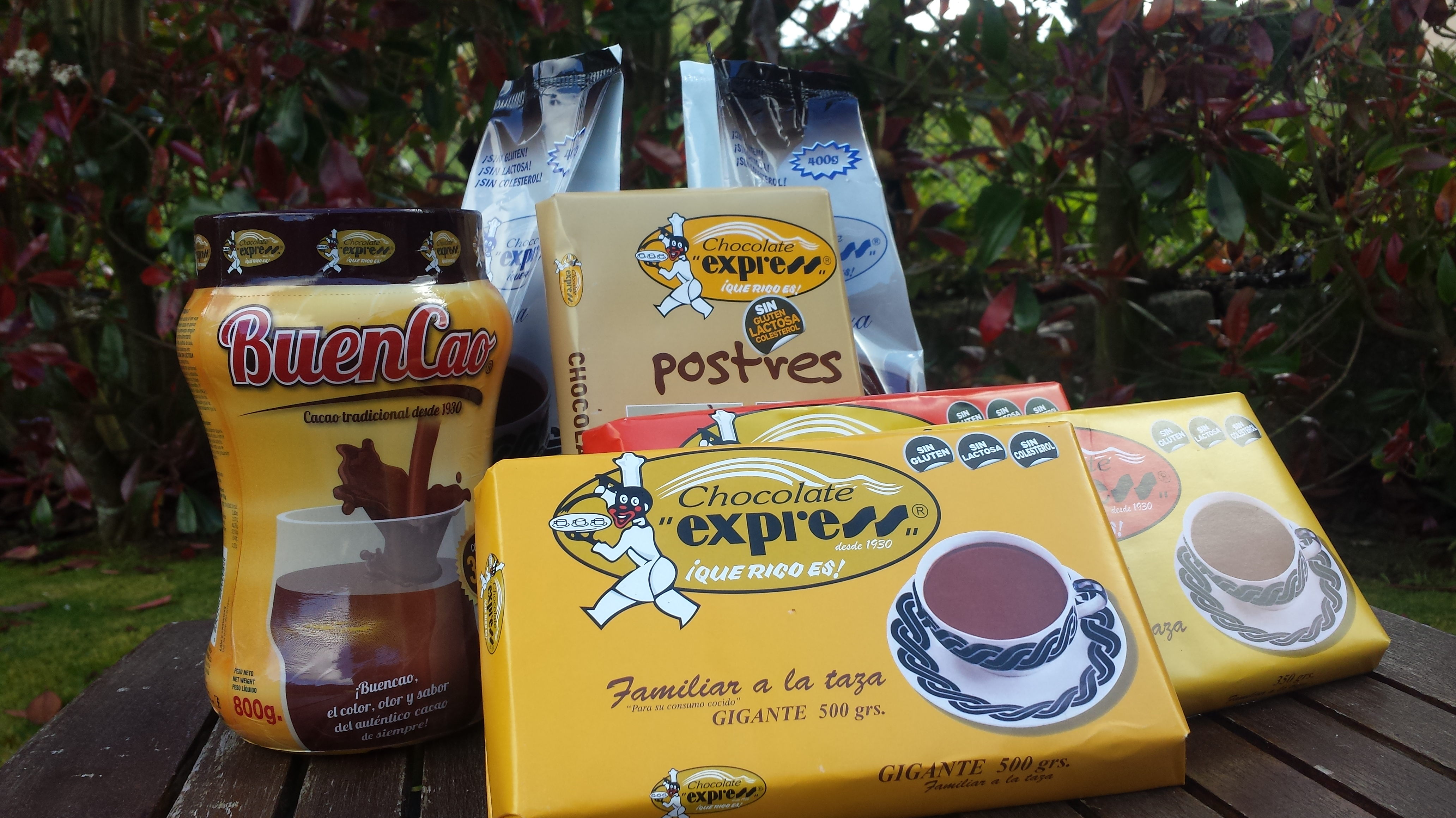 Chocolate Express producto natural made in Galicia