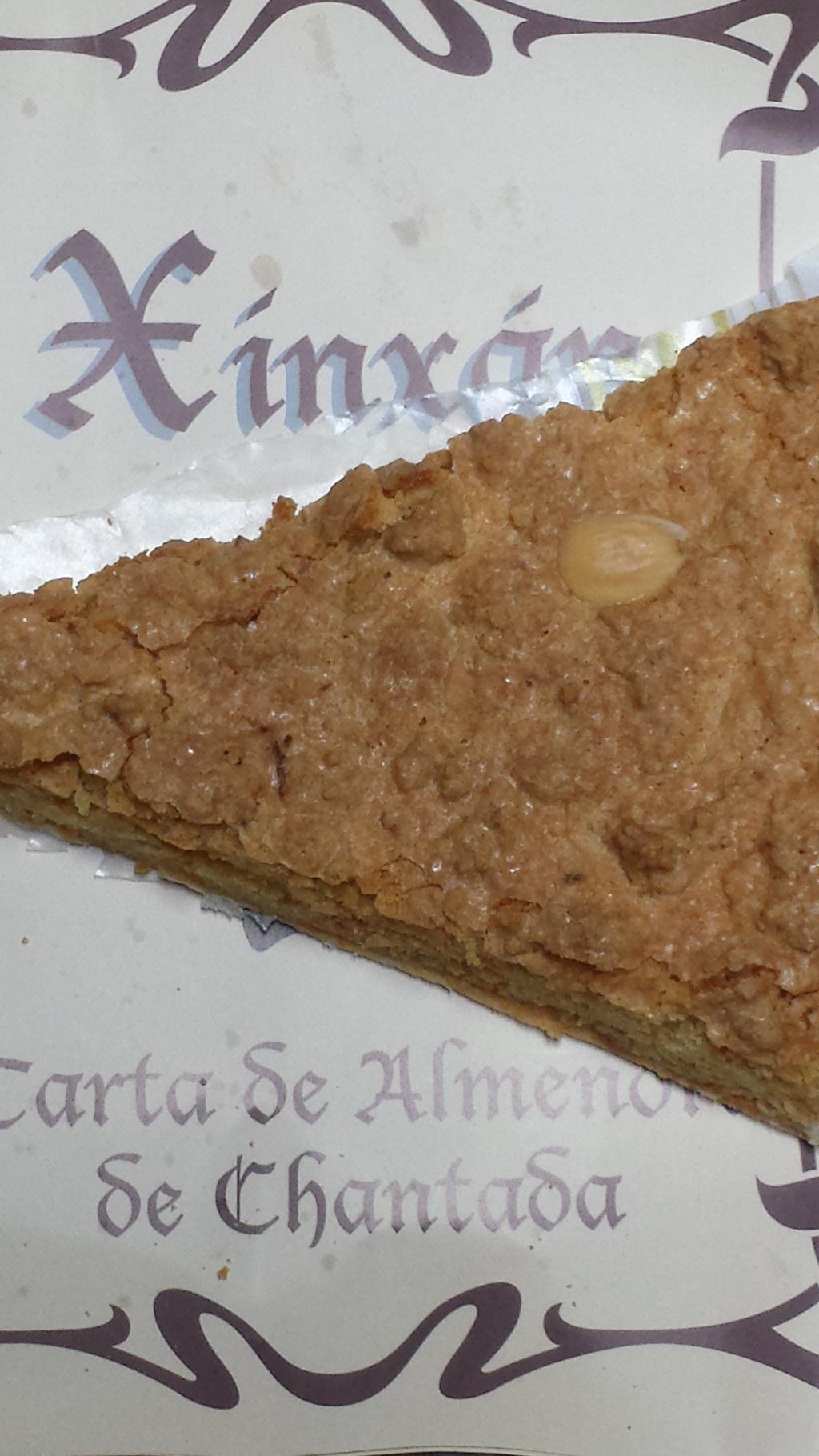 Panadería Xinxan de Chantada y su rica tarta de almendra