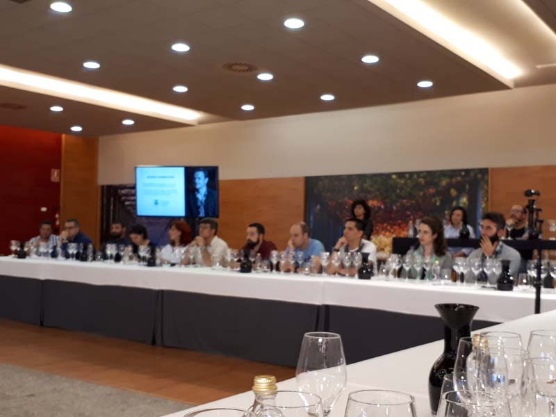 "El ""Master of Wine"" Norrel Robertson en ""Os Encontros de Codax"""
